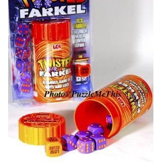 TWISTED Farkel _ Bundle of 2 Identical Games (New 2011 Release): Toys & Games