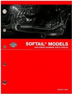 Official 2006 Harley Davidson Softail Parts Manual Automotive