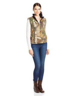 Walls Women's Ladies Sherpa Lined Vest Clothing