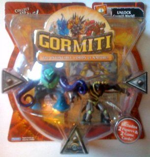 Gormiti Series 1 Ancient Jellyfish and Blind Fury 2 Pack Figures: Toys & Games