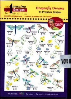 Amazing Designs Dragonfly Dreams Machine Embroidery Designs: Software