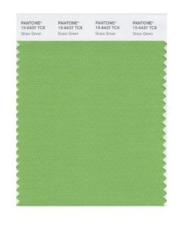 PANTONE SMART 15 6437X Color Swatch Card, Grass Green   Wall Decor Stickers