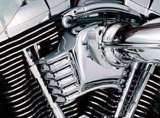 Kuryakyn Throttle Servo Motor Cover for Harley Davidson 2008 2013 Electra Glide, Road Glide, Street Glide, Road King, & Trike Models Automotive