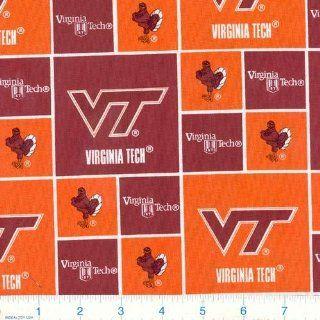 45'' Wide Virginia Tech Hokies Fabric By The Yard