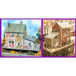 BAR MILLS N SCALE MODEL TRAIN BUILDINGS   WATERFRONT WILLY'S   0921 Toys & Games