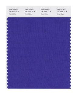 PANTONE SMART 19 3955X Color Swatch Card, Royal Blue   Wall Decor Stickers