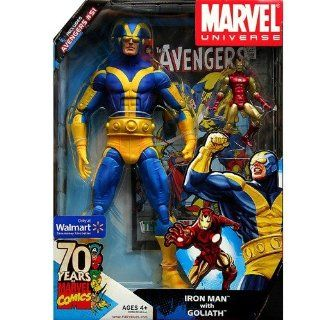 Iron Man With Goliath Exclusive Marvel Universe Action Figure Set Toys & Games