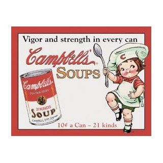 Campbell Soup tin sign #970  Yard Signs  Patio, Lawn & Garden