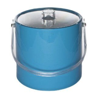 Mr. Ice Bucket 771 1 Regency 3 Quart Ice Bucket, Turquoise Kitchen & Dining