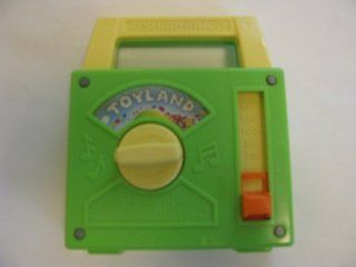 """Vintage 1983 FISHER PRICE """"TOYLAND"""" Musical Wind Up RADIO #795  Baby Musical Toys  Baby"""
