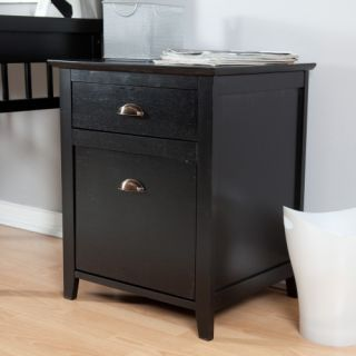 Pearce 2 Drawer File Cabinet   Black   File Cabinets