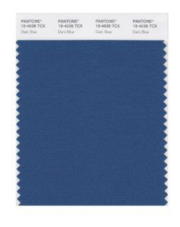 PANTONE SMART 19 4035X Color Swatch Card, Dark Blue: Home Improvement