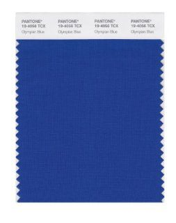 PANTONE SMART 19 4056X Color Swatch Card, Olympian Blue: Home Improvement