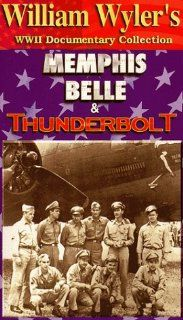 WW 2: Fire From the Sky, Memphis Belle & Thunderbolt [VHS]: Stanley Wray, Robert Morgan, James A. Verinis, Robert J. Hanson, Charles B. Leighton, Harold P. Loch, John P. Quinlan, Cecil H. Scott, Vince Evans, Clarence E. Winchell, Casimer A. Nastal, Hay