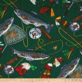 WinterFleece Fly Fishing Fabric