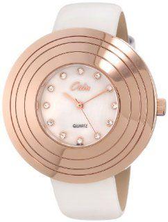 Odin Women's 807 3L Gold Plated Quartz Dress Watch Watches