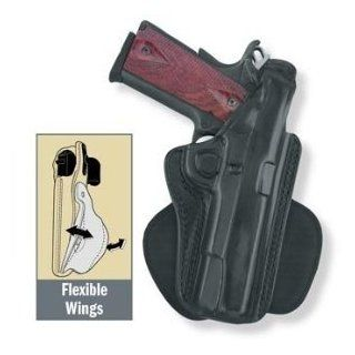 Gould & Goodrich B807 26R Paddle Holster, Black, Right Hand   Sig P220/226 w/  Gun Holsters  Sports & Outdoors