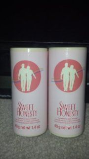 AVON SWEET HONESTY   SHIMMERING BODY POWDER   40G 1.4OZ  2 PCS : Body Lotions : Beauty