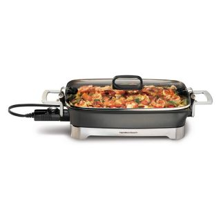 Hamilton Beach 38540 12 x 16 Nonstick Electric Skillet   Electric Skillets