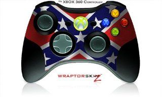 XBOX 360 Wireless Controller Decal Style Skin   Confederate Flag   CONTROLLER NOT INCLUDED (OEM Packaging): Video Games