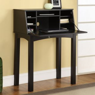 Altra Parsons Secretary Desk   Black   Desks