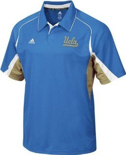 UCLA Bruins Adidas Blue Big Game Sideline Polo Shirt  Sports Related Merchandise  Sports & Outdoors