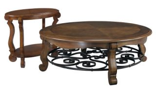 Hammary Siena Round 2 Piece Coffee Table Set   Coffee Table Sets