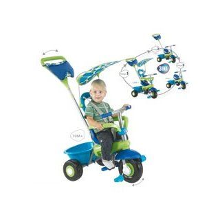 Smart Trike Fresh Blue Green 3 in 1 Kids Tricycle  Sports & Outdoors