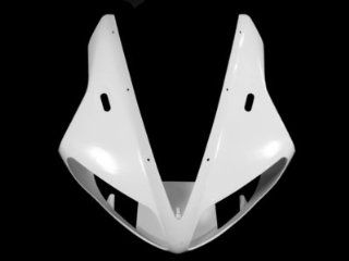 Moto 777 Unpainted Upper Front Fairing for Yamaha YZF 1000 R1 YZFR1 2002 2003: Automotive