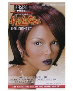 African Pride HiLites Highlighting Kit: 805 Egyptian Clay : Hair Highlighting Products : Beauty