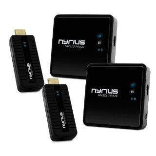 Nyrius ARIES Prime Digital Wireless HDMI Transmitter & Receiver System for HD 1080p 3D Video Streaming, Laptops, PC, Cablebox, Satellite, Blu ray, DVD, PS3, Xbox   NPCS549 (Pack of 2) Electronics