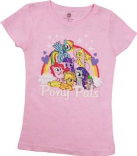 My Little Pony   Girls Pony Pals Shirt Novelty T Shirts Clothing