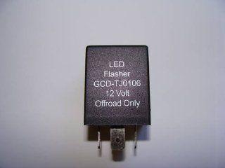 2006 JEEP TJ WRANGLER LED FLASHER RELAY STOPS HYPER FLASHING OF LED LIGHTS Automotive