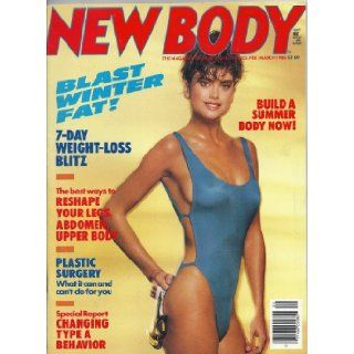New Body Magazine (March 1985, Kathy Ireland): Judy Jones: Books