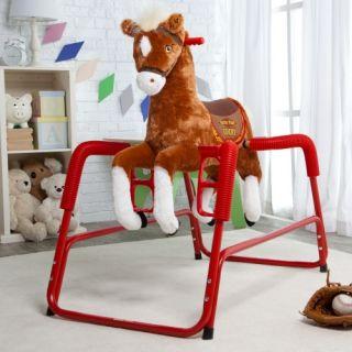 Tek Nek Toys Rockin Rider Daisy The Talking Spring Horse Rocking Toys
