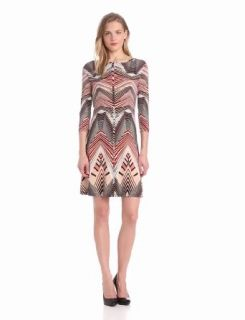 Tart Women's Michaela Dress, Linear Chevron Geo, X Small at  Women�s Clothing store: