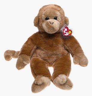 Ty Beanie Buddies Bongo   Monkey: Toys & Games