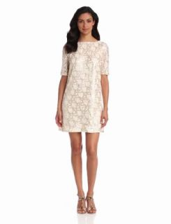 Jax Women's Sequin Dress, Cream, 2 at  Women�s Clothing store: