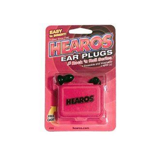 Hearos Earplugs Rock 'n Roll Series with Free Case, 1 Pair Foam Musical Instruments