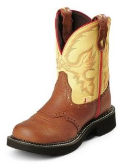 Justin Ladies 8 'Gypsy Collection' Cowgirl Boots   Tan: Shoes