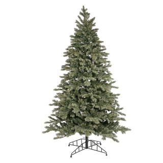 Blue Balsam Fir Pre lit Christmas Tree   Christmas Trees