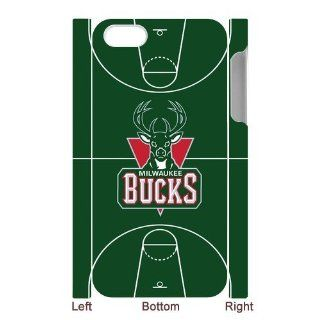 Custom Milwaukee Bucks Wood Back Cover Case for iPhone 5 5S LL5S 848: Cell Phones & Accessories