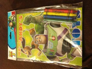 Disney Pixar Toy Story 3 We're Andy's on the Go or Party Pack Coloring 8 Pages Book with Crayons  Other Products