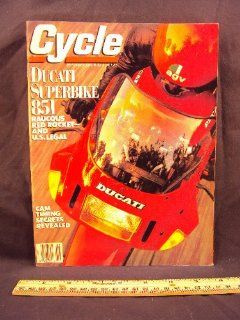1989 89 September CYCLE Magazine (Features: Road Test on Ducati Superbike 851, Moto Guzzi Mille GT, & Yamaha TW200): Cycle: Books