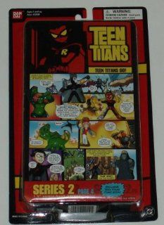 "Teen Titans Go 1.5"" Comic Book Heroes Series 2 Page 4 with Teen Titans Minifigure Hero Set 8 Toys & Games"