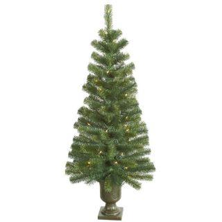 Vickerman 4 ft. Noble Pine Pre Lit Christmas Tree   Christmas Trees