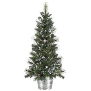 Vickerman 4 ft. Frost White Mix Tip Pre Lit Christmas Tree   Christmas Trees