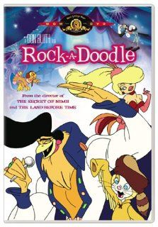 Rock A Doodle: Glen Campbell, Christopher Plummer, Phil Harris, Eddie Deezen, Kathryn Holcomb, Toby Scott Ganger, Stan Ivar, Christian Hoff, Jason Marin, Sandy Duncan, Will Ryan, Charles Nelson Reilly, Ellen Greene, Sorrell Booke, Dee Wallace, Don Bluth, D