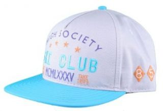Dope Couture High Society Grey/Teal Snapback Hat at  Men�s Clothing store