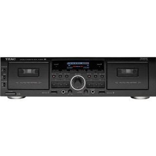 TEAC W865R Dual Cassette Deck with Pitch Control (Discontinued by Manufacturer) Electronics